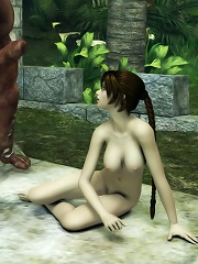 Boobie Anime call girl got wet and strokes dong