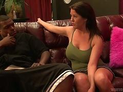 Big Tittied Grace Evangeline Gets Banged By Black Dude