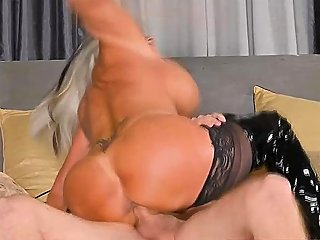 One Guy Bangs Two Busty Mature Sluts