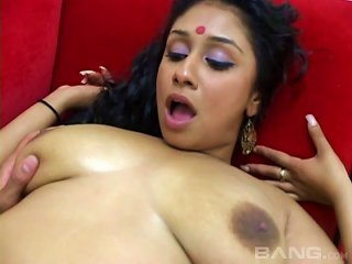 Big Tit Indian Babe Ridding On A Hard Cock