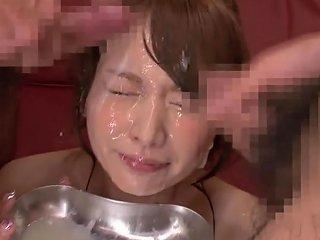 Hottest Japanese Girl In Exotic Hd Bukkake Jav Scene Txxx Com
