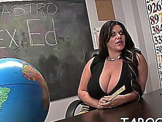 Lusty Sweetheart Angelina Castro Caresses Fat Slim Jim