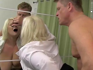 Gilf Lacey Starr Tricks Patient Into Doggy Style Penetration Porn Videos