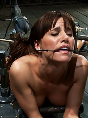 Machine Fucked And Double Penetrated To Multiple Brutal Orgasms!