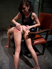 Maitresse Madeline Punished And Fucked Then Hazed In As Director Of Whipped Ass By Princess Donna!