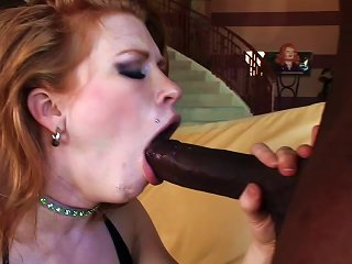 Hot And Naught Madison Loves Deep Throating Massive Black Cock