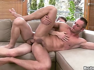 Muscular Gay Paul  Blows And Gets His Butt Drilled Hard