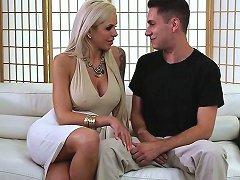Pornstar Nina Elle Fucks Cock Between Bigtits Free Porn 18