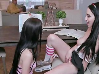 Busty Teen Lesbians Scissor Fuck And Eat Pussy Any Porn