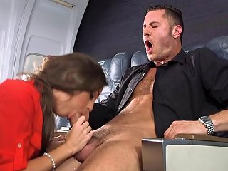 Slutty Abigail Mac Is The Hottest Flight Attendant Ever Any Porn