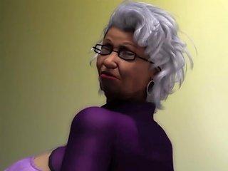 I Fucked My Granny Neighbor Big Black Ass