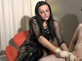 Handjob From German Domina For Bdsm Slave Porn Videos