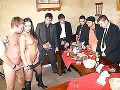 free cum video Group of guys fuck cute...