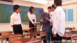 Take Charge Japanese Girl Sits On His Face And Hard Dick