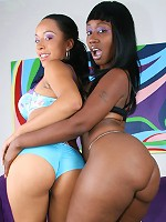 Misty and Beauty share dildo fun in lez fest