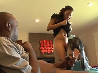 Black Maid In Threesome Wither Her Mistress