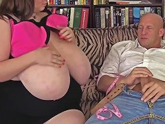 Big Tits Lexxxi Luxe Receives Some Hard Pounding From Behind