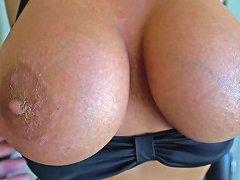 Busty Cougar Next Door Gets A Huge Facial Free Hd Porn 8d