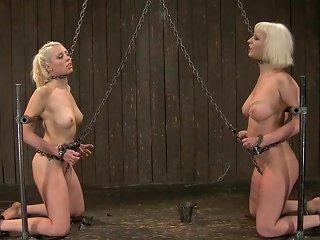 Blonde Sluts In Extreme Device Bondage Porn Videos
