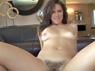 Lauren Cohan Grinding On A Cock