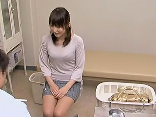 Cameras Filmed Japanese Teen Getting Fucked By Her Gyno