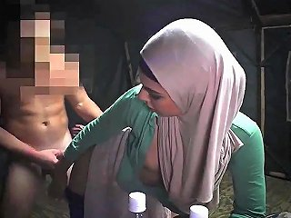 French Arab Amateur Anal XXX Sneaking In The Base