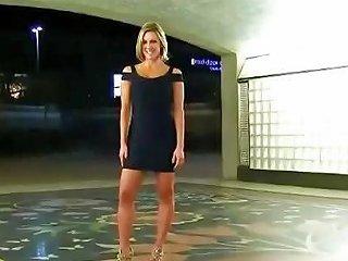 Muscle Girl Pantieless In Mini Dress Ass Flash Porn 06