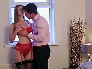 Wonderful Uk Nympho Stella Cox Desires To Be Fucked From Behind
