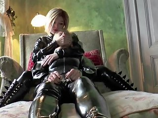 Breath Play Practice For The Latex Slave Girls Hd Porn 28