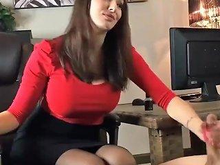 Goddess Lexi Footjob Humiliation