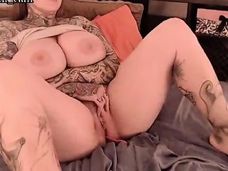 Busty Milf Teasing And Toying Her Pussy Nuvid