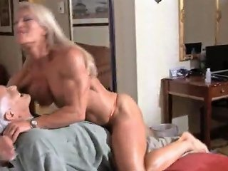 Sexy Mature Muscle Queen Ginger Messes Around With Some Old Loser Porn Videos