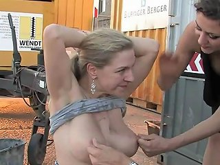 Huge Tits Submissive Housewife BDSM Movie 6