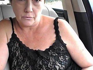 Mature Tiny Tit Topless Dare In Car Txxx Com