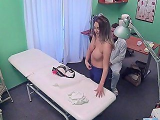Sexy Doctor Undresses For Sex Feature