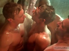 Awesome gay videos of the hottest muscle group sex