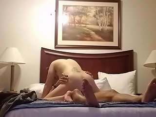 Girlfriend Rides Me In A Hotel