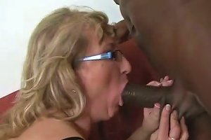Horny Granny Still Has Some Skills On How To Suck A Cock