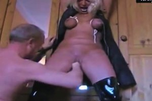 My Slave Masja Tormented And Squirting