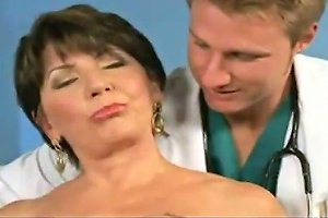 Mature Cougar Gets Fucked At The Doctors Office