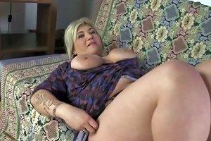 Cocksucking Mature Fatty Finger Fucked Lustily