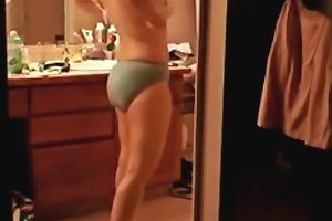 Army MILF Vicky Nude And Unaware Vintage Part
