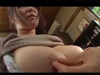 Fat Busty Milf Getting Her Tits Rubbed Hairy Pussy Licked By Young Guy On The Floor In The Room