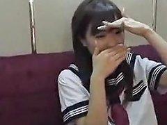 Horny Asian Schoolgirl 1