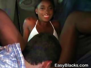 Hot Black Ex Girlfriend Gives Wicked