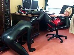 Latex Fetish Play With Couple