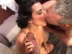 Lou Charmelle Big Black Drill Wrecked Havoc On Frenchs Pussy And Her Husbands Tiny Cock Grew By As Much As 1 Inch..^cuckold Sessions Mature Porn Sex X