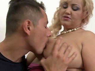 Busty Natural Mom Pilar Seduced By Dirty Son