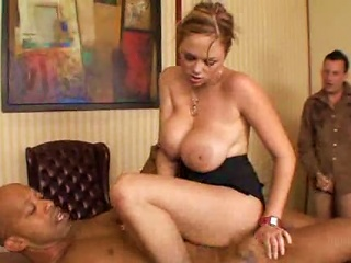 Wife Gets Black Cock As Hubby Watches