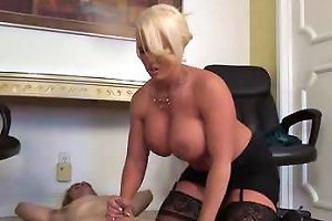 Busty Milf Gives Cock Therapy Free Milf Cock Porn Video C2